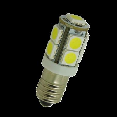 SMD LED Lampe - E10 - 12 Volt - 6500K (weiß) - groß