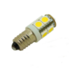 SMD LED Lampe - E10 - 12 Volt - 3000K (warmweiß) - groß