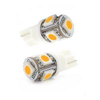 SMD LED Lampe - T10 - 12 Volt - 3000K (warmweiß)