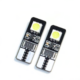 LED Lampe - T10 Sockel - 12 Volt - weiß (6500K) - 6 5050 Chips - 2 Stück