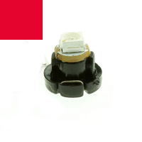 SMD LED Tachobeleuchtung - T3 Sockel - 12 Volt - rot