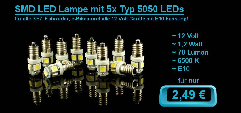 SMD LED Lampe