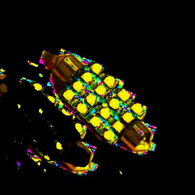 42mm Soffite LED Lampe - 6000 K- 16 SMD LEDs