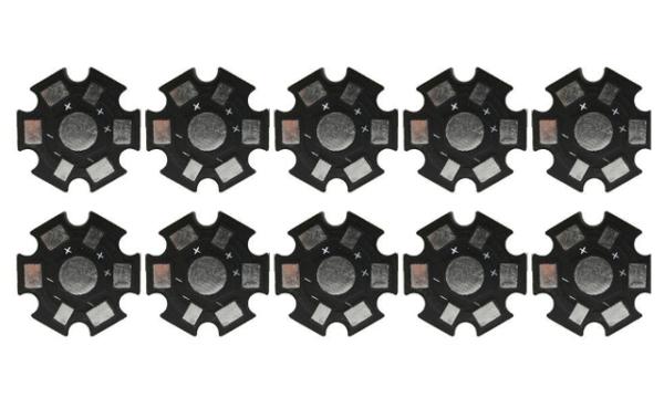 20mm Starplatine / Alu-Kühlkörper - 10 Stück