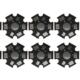 20mm Starplatine / Alu-Kühlkörper - 5 Stück