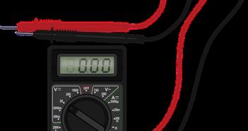 Ein Multimeter ist ein wichtiges Gerät.