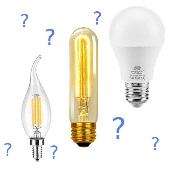 Welches ist das beste Leuchtmittel für Dich und Deinen Wohnraum?