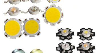 Unterschiedliche LED Chips.