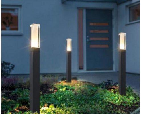 Schon mit wenigen handgriffen kannst Du Deine Gatenbeleuchtug optimieren.