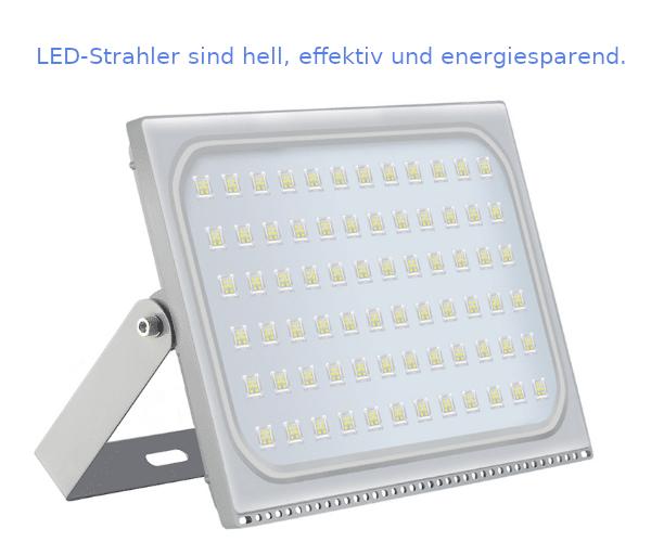 LED-Flutlicht hat viele Vorteile gegenüber HID-Flutlicht.