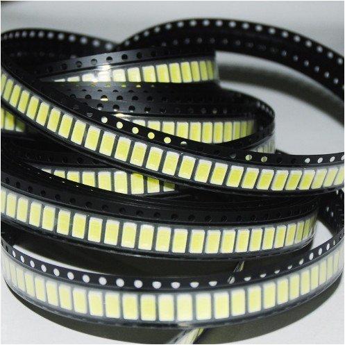Der 5050 SMD LED Chip ist einer der gängigsten Bauformen.