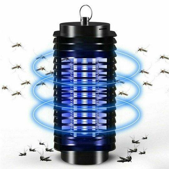 Einige Leuchtmittel helfen Insekten und Mücken abzuwehren.