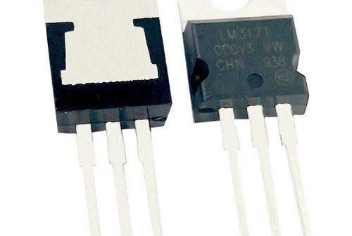 Der IC LM317 ist ein einstellbare Konstantstromquelle.
