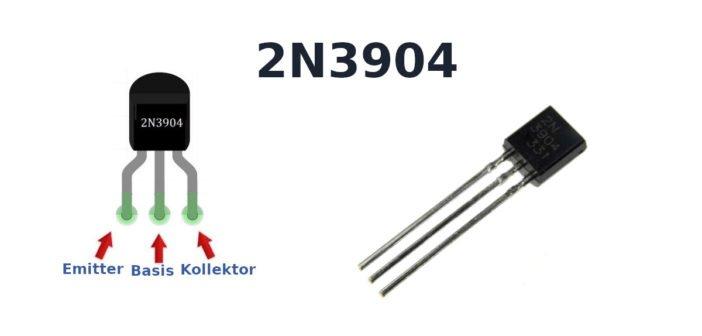 Funktion und Schaltung des 2N3904 Transistor.