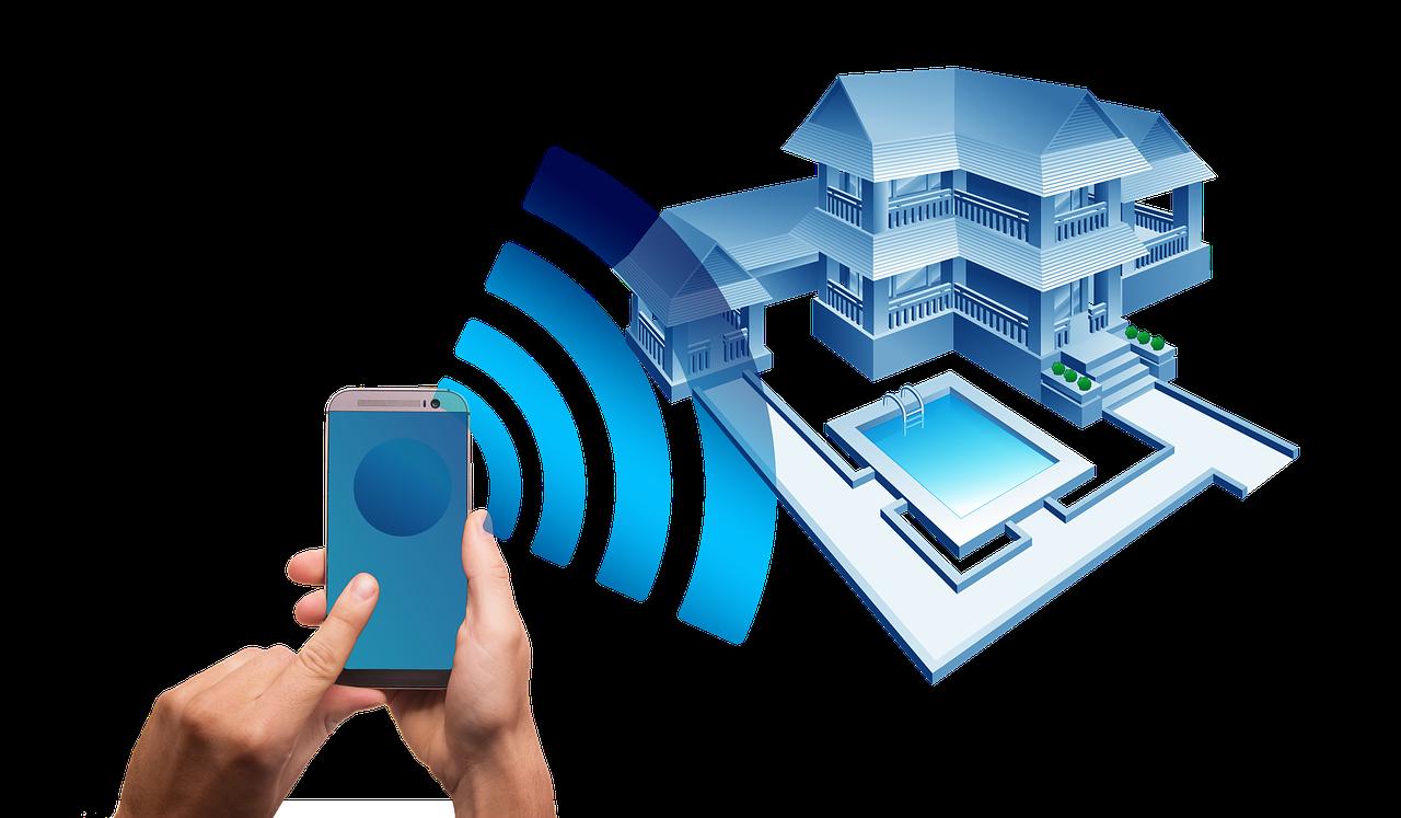 Ein Smart Home kann theoretisch komplett per Smartphone gesteuert werden.