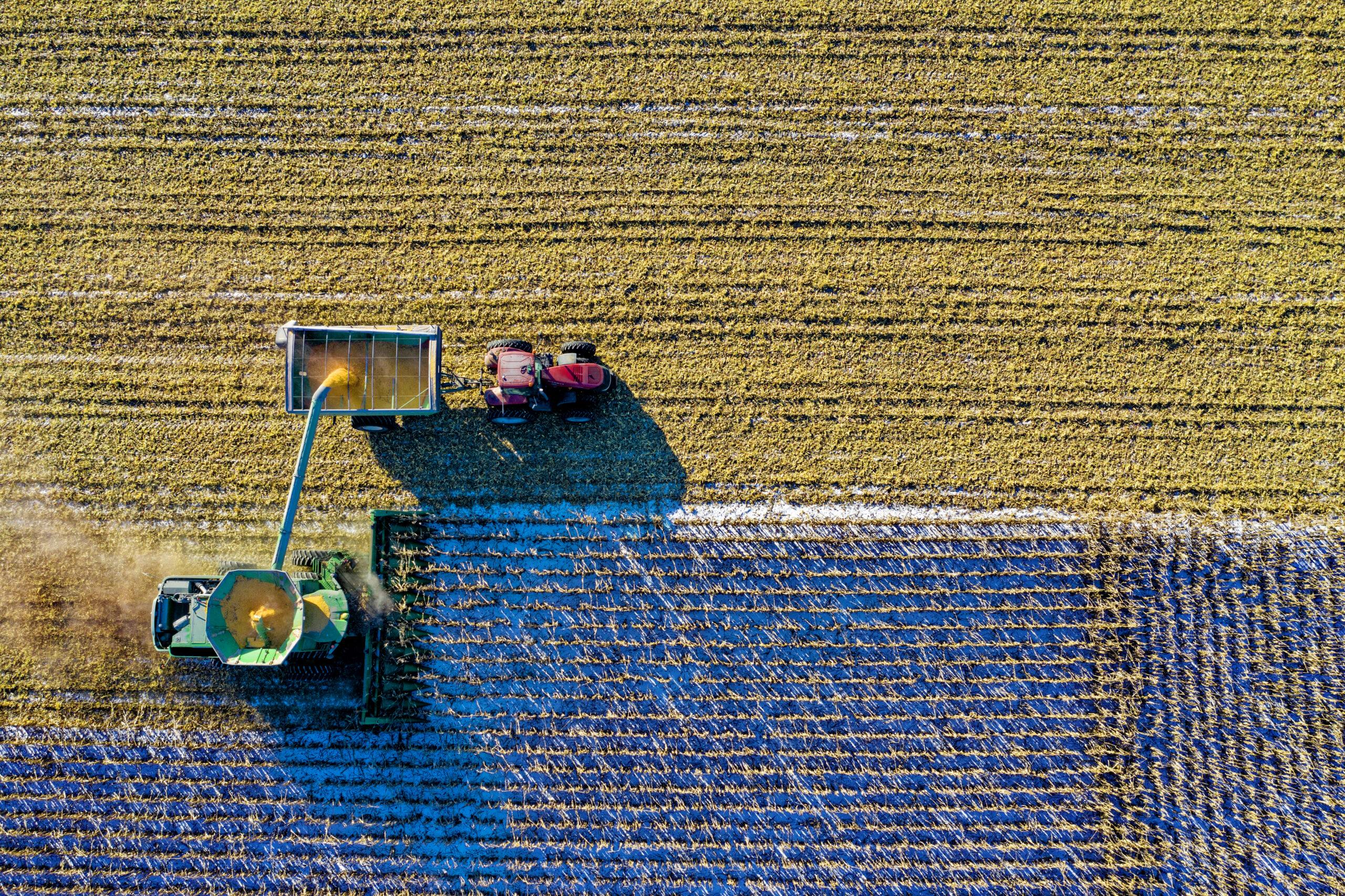 Das Internet der Dinge in der Landwirtschaft.