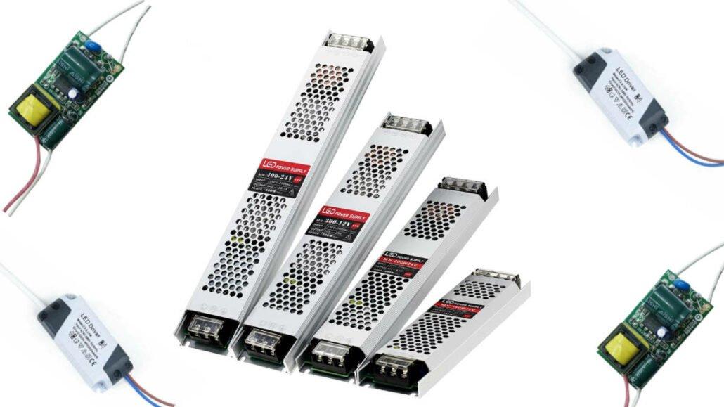 Viele Varianten einer Art von LED-Treibern.