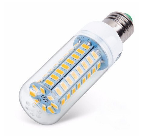 LED-Birne mit vielen SMD-LEDs.