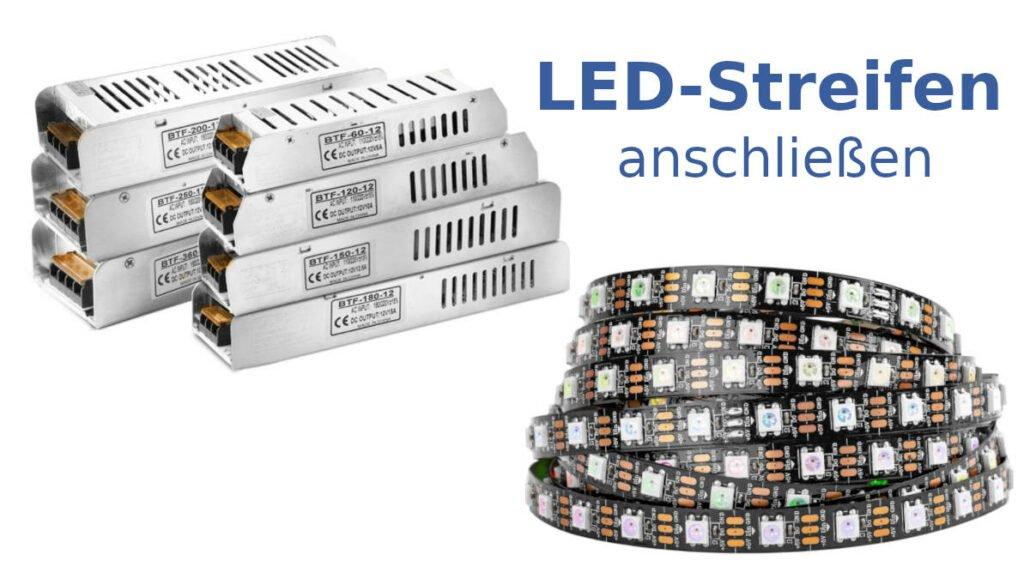 Stromversorgung von LEDs einfach erklärt.