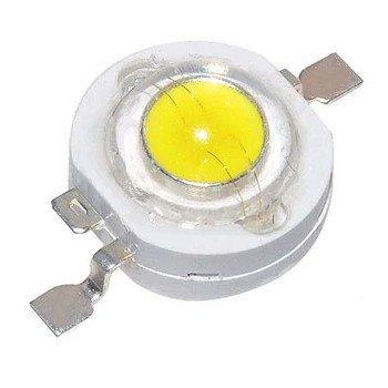 Eine drei Watt Highpower LED.
