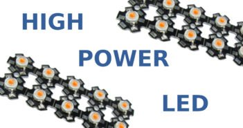 Definition der High Power LED.
