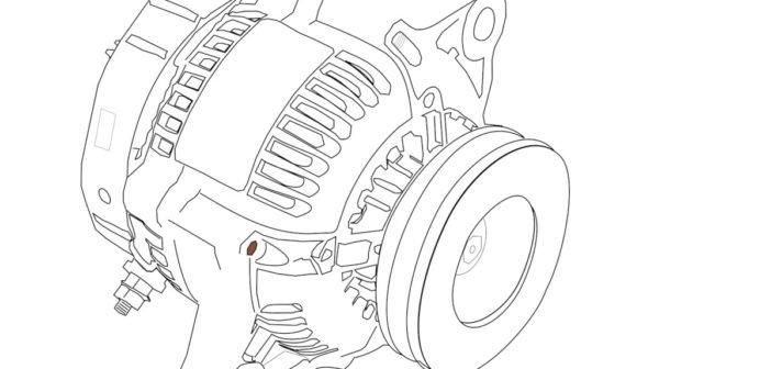 Ein Sanftanlaufgerät für Gleichstrommotoren.
