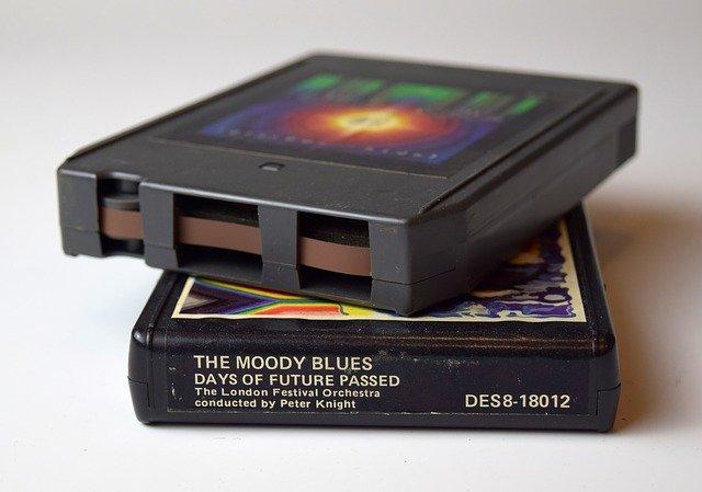 Eine Datasette diente früher als Datenspeicher.