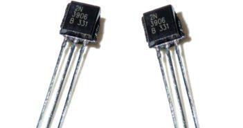 Funktion und Schaltung des 2N3906 Transistor.