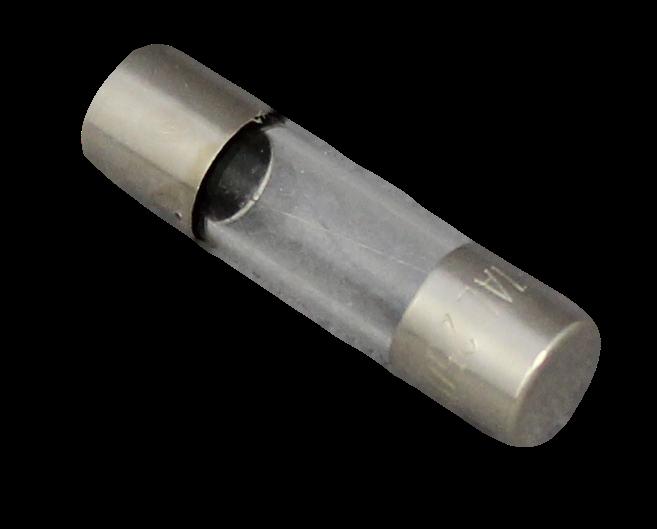 20 mm Glassicherung.