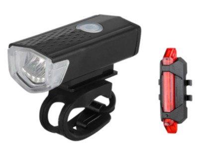 LED Beleuchtung für die Vor- und Rückseite von Fahrrädern.