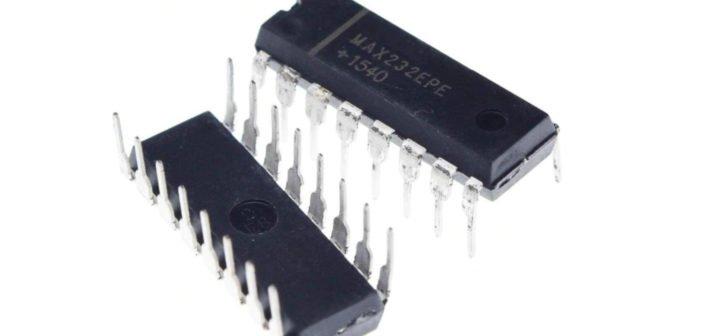 Funktion und Schaltung des MAX232.