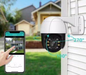 Eine IoT Security Kamera