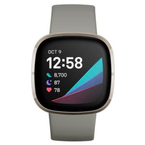 Platz 3 der besten Smartwatches: Fitbit Sense